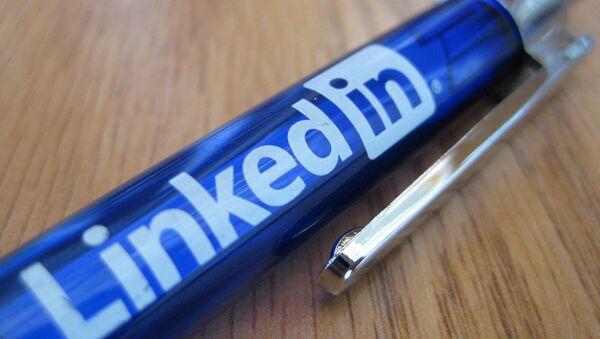 Długopis z logiem LinkedIn - Sputnik Polska