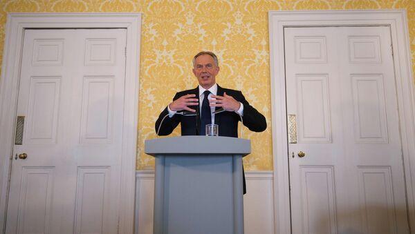 Były premier Wielkiej Brytanii Tony Blair - Sputnik Polska
