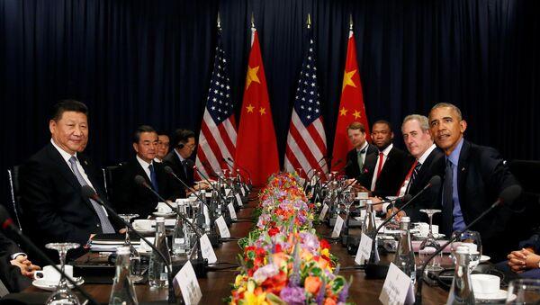 Przewodniczący ChRL Xi Jinping wyraził nadzieję, że zmiany w amerykańskiej administracji nie pogorszą relacji na linii Waszyngton-Pekin - Sputnik Polska