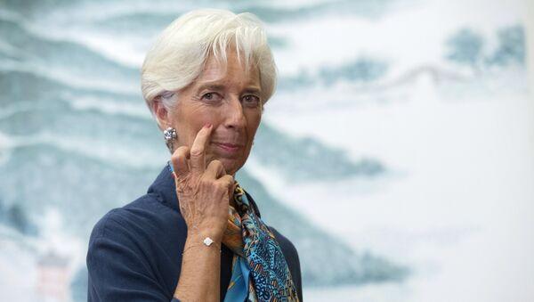 Szefowa MFW Christine Lagarde - Sputnik Polska