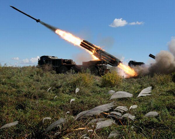 System artylerii rakietowej BM-27 Uragan - Sputnik Polska