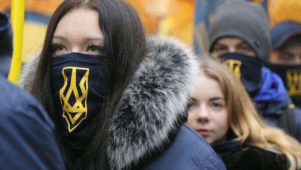 Rocznica Euromajdanu, Kijów, 21 listopada 2016 - Sputnik Polska