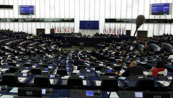 Posiedzenie parlamentu europejskiego w Strasburgu - Sputnik Polska