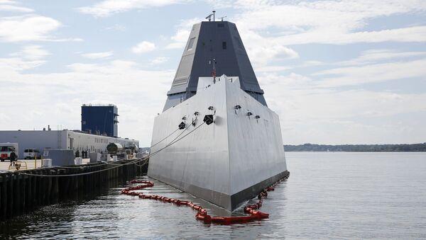 Niszczyciel typu USS Zumwalt - Sputnik Polska