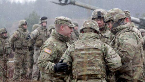 Szkolenia wojsk NATO - Sputnik Polska