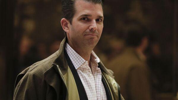 Najstarszy syn prezydenta elekta Stanów Zjednoczonych Donald Trump Jr. - Sputnik Polska