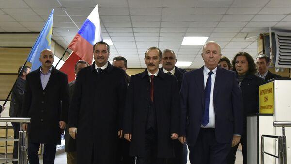 Wizyta tureckiej delegacji na Krymie - Sputnik Polska