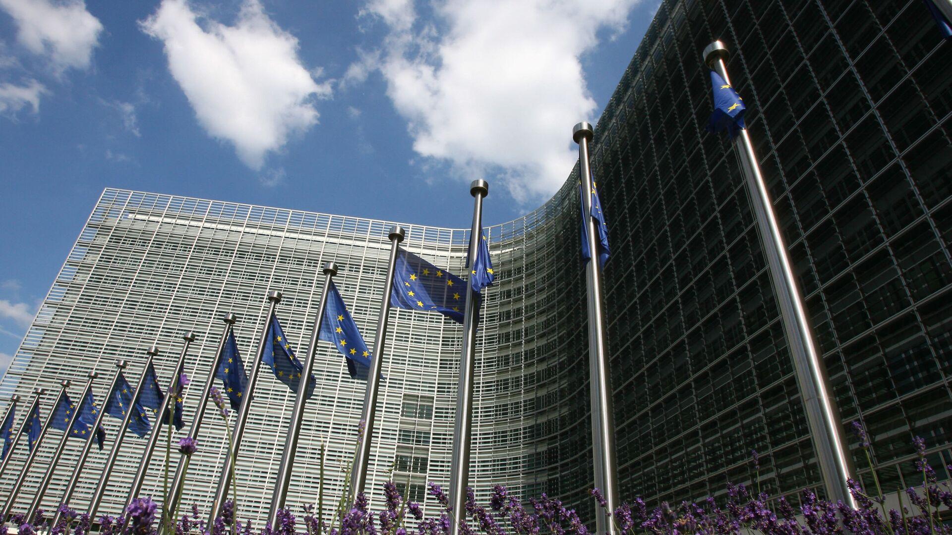 Siedziba Komisji Europejskiej w Brukseli - Sputnik Polska, 1920, 16.09.2021