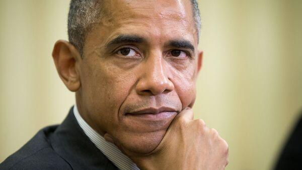 Prezydent Barack Obama - Sputnik Polska