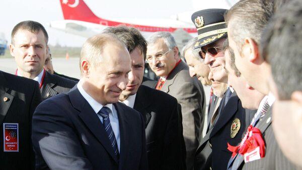 Władimir Putin popdczas wizyty w turecki Samsun. - Sputnik Polska