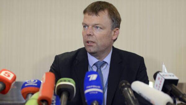 Zastępca szefa specjalnej misji obserwacyjnej na Ukrainie Alexander Hug - Sputnik Polska