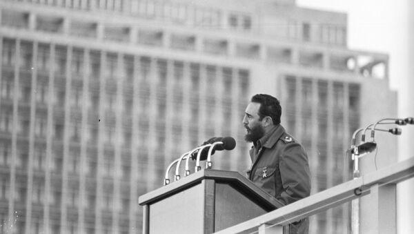 Fidel Castro, przywódca rewolucji kubańskiej - Sputnik Polska