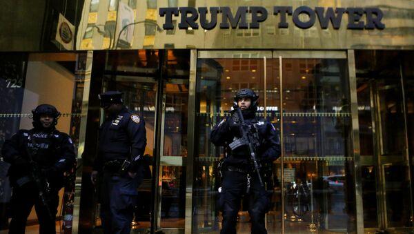 Trump Tower - Wieża Trumpa w Nowym Jorku - Sputnik Polska