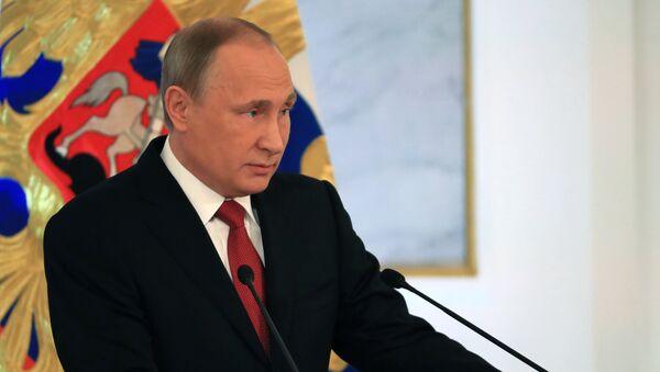 Orędzie Władimira Putina - Sputnik Polska