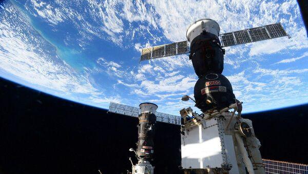 Zdjęcie zrobione z pokładu MSK przez astronautę NASA, inżynier pokładową Kate Rubins - Sputnik Polska