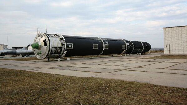 Międzykontynentalny pocisk rakietowy RS-28 - Sputnik Polska