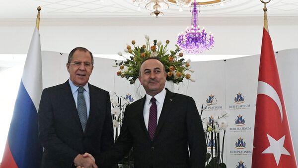 Minister spraw zagranicznych Siergiej Ławrow z wizytą w Turcji - Sputnik Polska