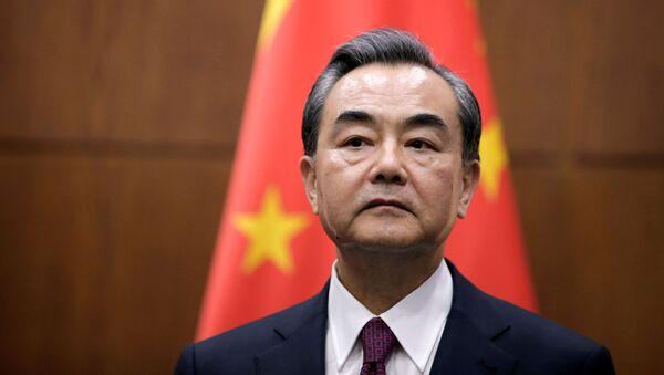 Szef MSZ Chin Wang Yi - Sputnik Polska