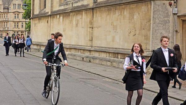 Studenci Oksfordu - Sputnik Polska