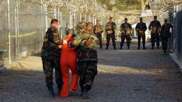 Więzienie w Guantanamo - Sputnik Polska