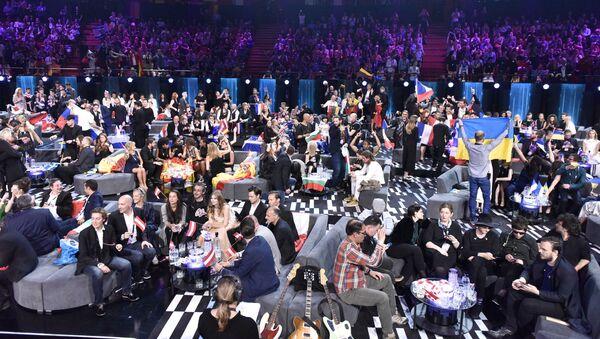 Głosowanie podczas finału Eurowizji w Sztokholmie, Szwecja - Sputnik Polska