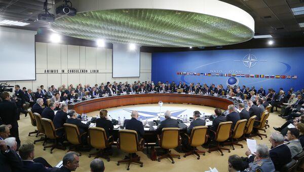Posiedzenie Rady Rosja-NATO, Bruksela, październik 2013 - Sputnik Polska