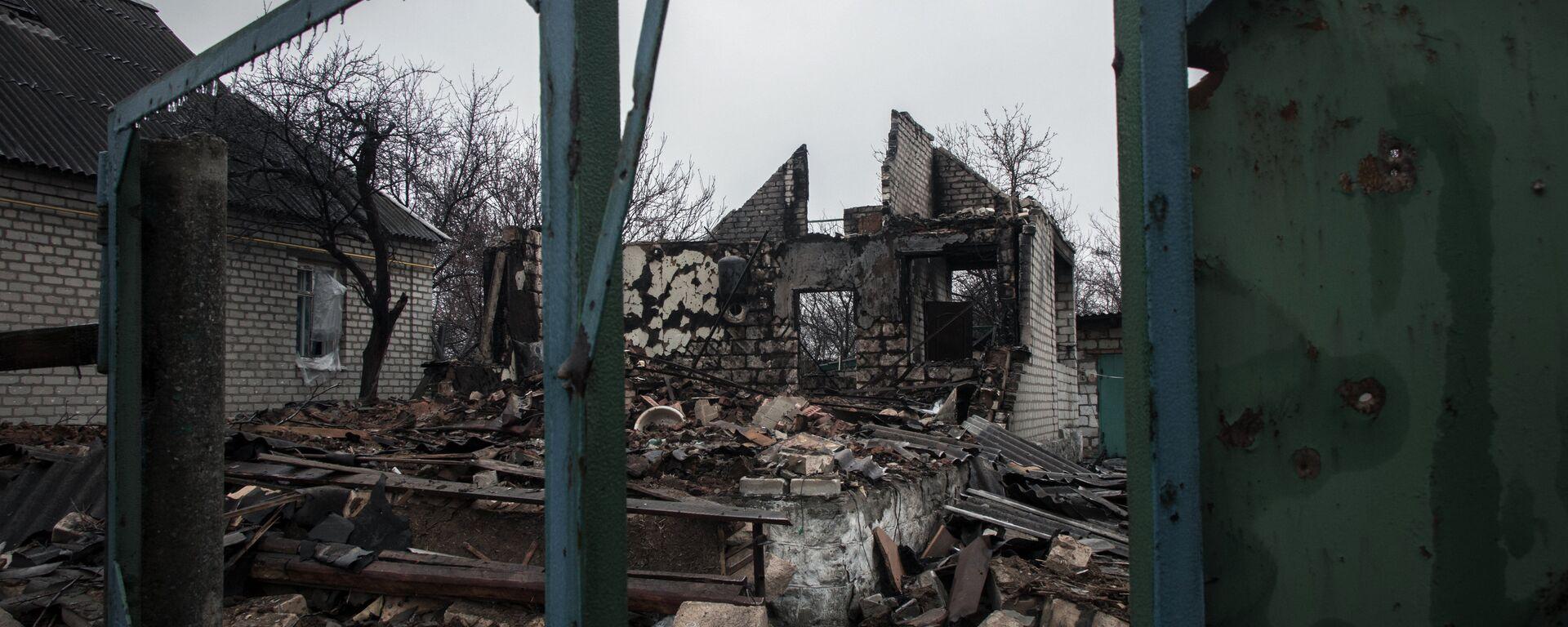 Wojna w Donbasie - Sputnik Polska, 1920, 17.03.2021