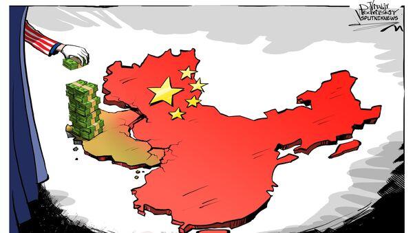Tybet zapleczem USA - Sputnik Polska