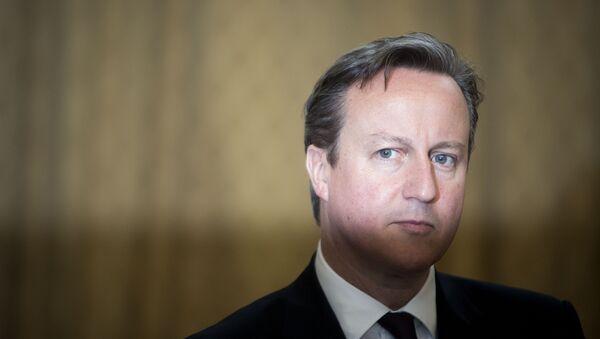 Były premier Wielkiej Brytanii David Cameron - Sputnik Polska