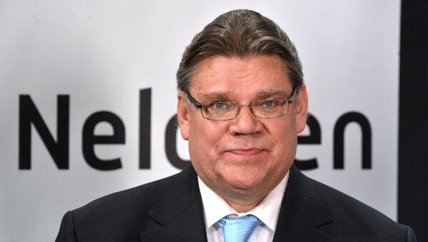 Minister spraw zagranicznych Finlandii Timo Soini - Sputnik Polska