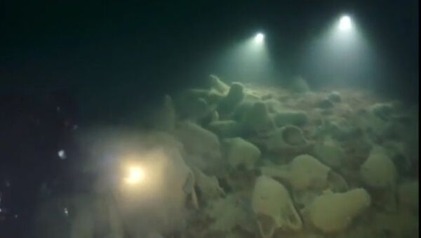 Morze Czarne, bizantyjskie amfory - Sputnik Polska