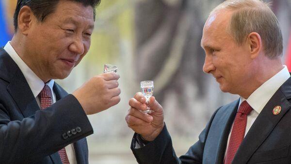 Władimir Putin i Xi Jinping - Sputnik Polska