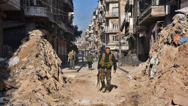 Aleppo, 9 grudnia 2016 - Sputnik Polska