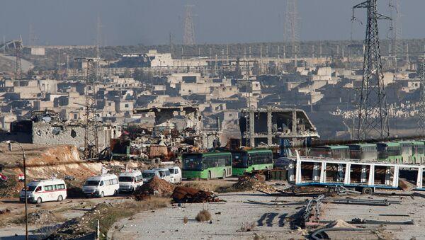 Wschodnie Aleppo, 15 grudnia 2016 - Sputnik Polska