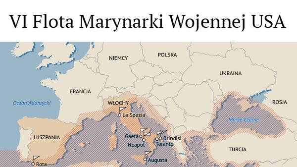 VI Flota Marynarki Wojennej USA - Sputnik Polska