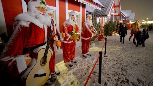 Otwarcie świątecznego jarmarku na Kremlu w Kazaniu - Sputnik Polska