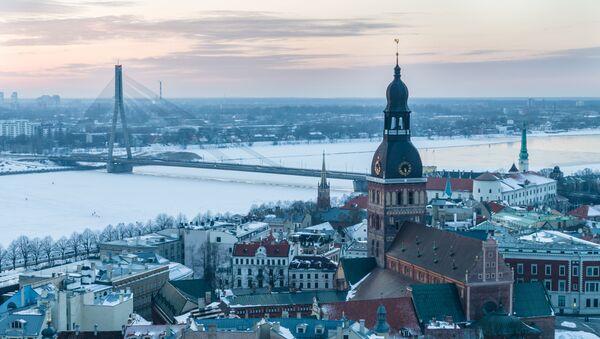 Zimowa Ryga - Sputnik Polska