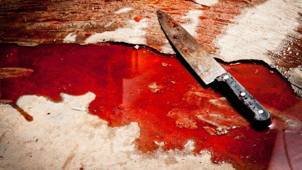 Nóż w krwi - Sputnik Polska