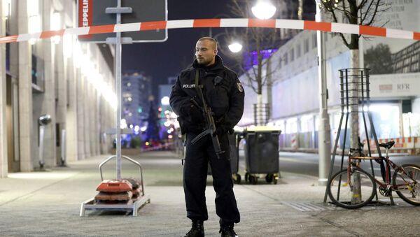 Policja w Berlinie - Sputnik Polska