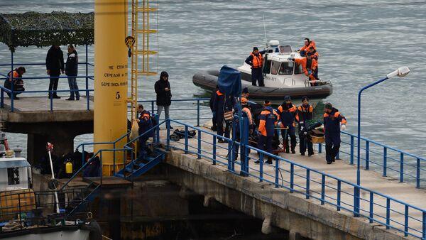 Miejsce katastrofy rosyjskiego Tu-154 w Soczi - Sputnik Polska