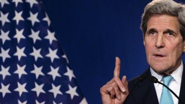 Amerykański sekretarz stanu John Kerry - Sputnik Polska