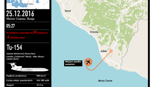 Katastrofa samolotu Tu-154 - Sputnik Polska