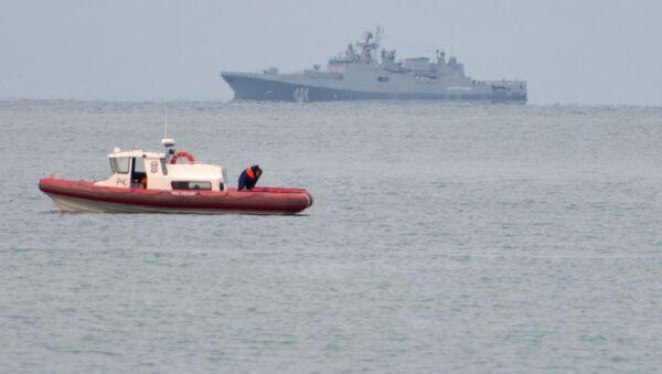 Akcja poszukiwawczo-ratownicza Tu-154 Ministerstwa Obrony Rosji u wybrzeży Morza Czarnego - Sputnik Polska