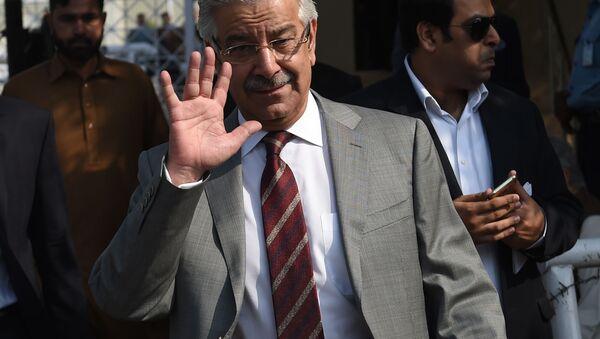 Minister obrony Pakistanu Khawaja Mohammad Asif - Sputnik Polska
