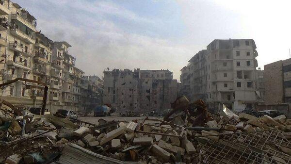 Ostatnia wyzwolona dzielnica Wschodniego Aleppo - As-Sukkari - Sputnik Polska