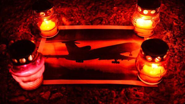 Akcja upamiętniająca ofiary katastrofy samolotu Tu-154 u wybrzeży Morza Czarnego - Sputnik Polska