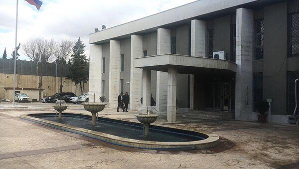 Rosyjska ambasada w Damaszku - Sputnik Polska
