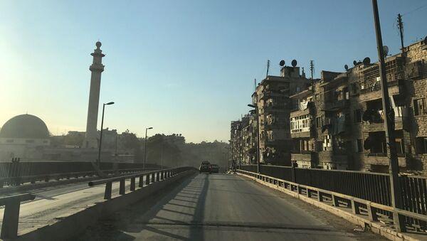 Wschodnie Aleppo, Syria - Sputnik Polska
