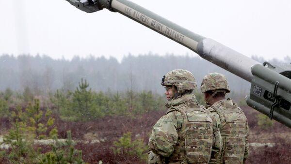 Ćwiczenia NATO na Łotwie, operacja Summer Shield - Sputnik Polska