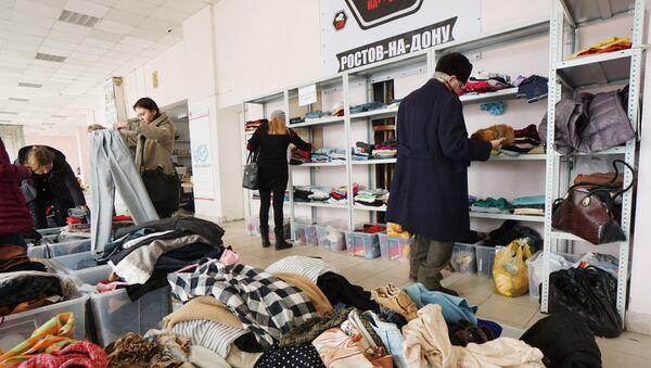 Centrum pomocy uchodźcom w Rostowie nad Donem - Sputnik Polska